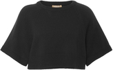 Michael Kors Cropped Cashmere Pullover