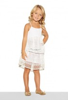 Milly Minis Geo Lace Gathered Skirt