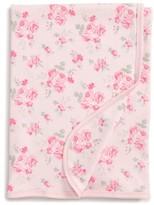 Little Me Pink Rose Receiving Blanket
