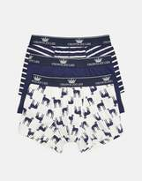203918 Three Pack CROWN Joules Boxer Shorts