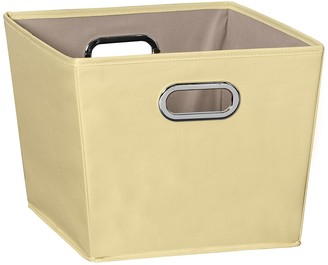 Honey-Can-Do Yellow Medium Storage Bin