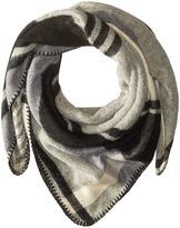 BCBGMAXAZRIA Reversible Plaid Wrap