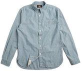 Ralph Lauren RRL Railman Slim Chambray Shirt
