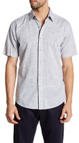 James Campbell Bistro Short Sleeve Woven Shirt