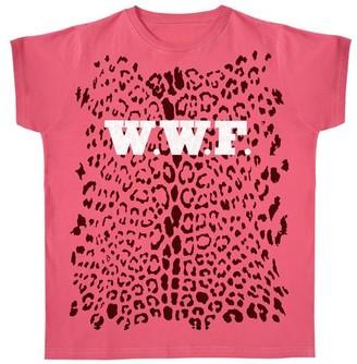 Dandy Star - Dandy Star W W F Leopard T Shirt In Red - S