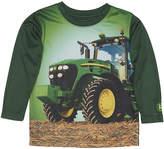 John Deere Green Field Tractor Long-Sleeve Tee - Toddler