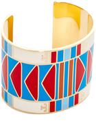 Tory Burch Geo Wide Cuff Bracelet