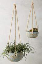 Anthropologie Reactive Hanging Planter