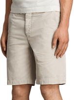 Allsaints Allsaints Miller Cotton Chino Shorts, Vintage White