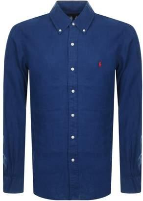 Ralph Lauren Linen Shirt Navy