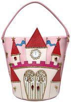 Dolce & Gabbana Castle Embellished Nappa Leather Bag