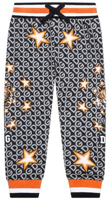 Dolce & Gabbana Kids Tiger And Star Print Sweatpants (8-12 Years)