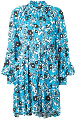 Stine Goya Abstract-Print Mini Dress