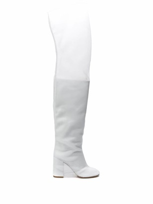 MM6 MAISON MARGIELA Over-The-Knee Covered Boots