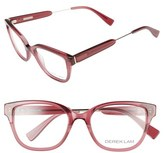 Derek Lam Women's 50Mm Optical Glasses - Dark Pink