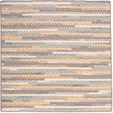 Colonial Mills PY39R096X096B Print Party Rectangle Braided Rug