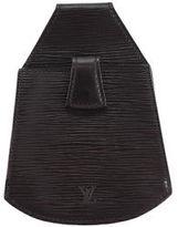 Louis Vuitton Black Epi Leather Organizer De Poche Clutch