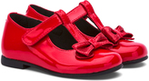 Rachel Red Patent Bow-Accent Molly Mary Jane