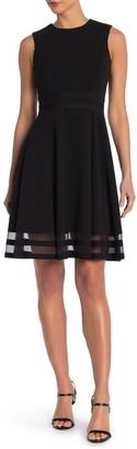 Modern American Designer Sleeveless Fit & Flare Dress
