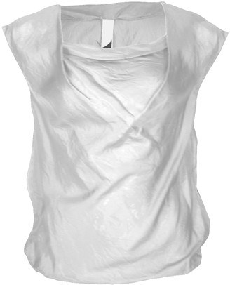 Format LIZZ blouse white pure silk - M