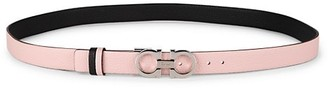 Salvatore Ferragamo Donna Gancini Buckle Reversible Leather Belt