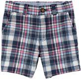 Carter's Baby Boy Plaid Shorts