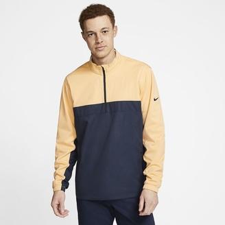 Nike Mens 1/2-Zip Golf Jacket Shield Victory