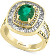Effy Final Call Emerald (1-1/2 ct. t.w.) and Diamond (2-1/4 ct. t.w.) Ring in 14k Gold
