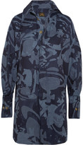 Vivienne Westwood Lottie Printed Cotton-jacquard Shirt Dress - Blue