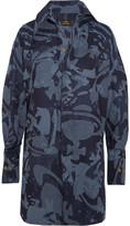 Vivienne Westwood Lottie Printed Cotton-jacquard Shirt Dress - Blue