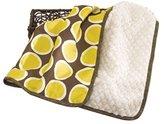 CoCalo Decorative Blanket Cyprus, Brown/Mustard