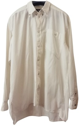 Thierry Mugler White Cotton Top for Women Vintage