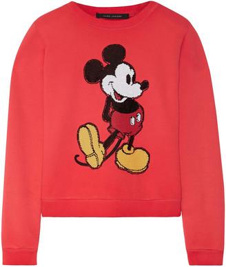 Marc Jacobs Sequin-embellished Cotton-jersey Sweatshirt