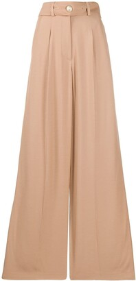 IRO High Waist Wide-Leg Trousers