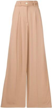 IRO high waist wide-leg trousers