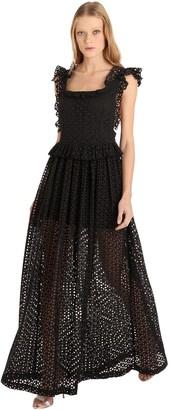 Cc By Camilla Cappelli Anna Eyelet Lace Maxi Dress