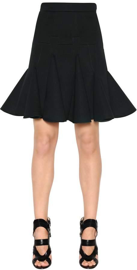 Antonio Berardi Ruffled Scuba Skirt