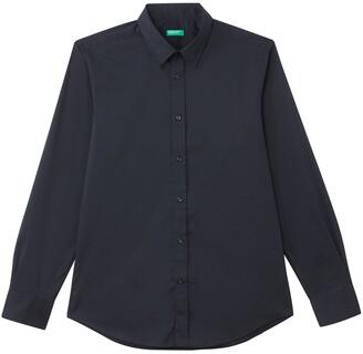 Benetton Slim Fit Long-Sleeved Shirt