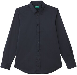Benetton Slim Fit Long-Sleeved Shirt