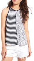 Splendid Women's Mixed Stripe Tank
