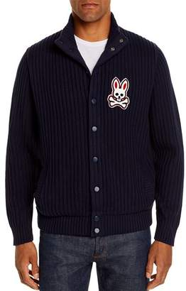 Psycho Bunny Byron Mixed-Media Sweater