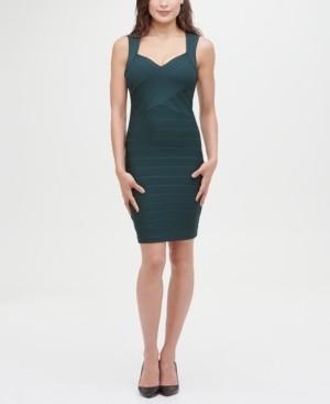 GUESS Sleeveless Mini Bandage Dress