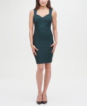 GUESS Sleeveless Mini Bandage Dress