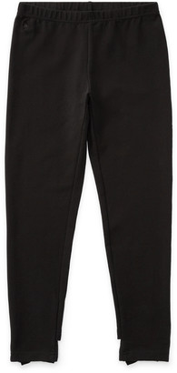 Ralph Lauren Bow-Back Jersey Legging