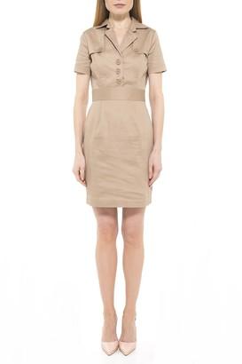 Alexia Admor Skylar Cap Sleeve Mini Trench Dress