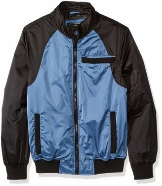 Urban Republic Mens Heavy Poly Satin Jacket