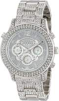 Akribos XXIV Women's AK776SS Analog Display Swiss Quartz Silver Watch