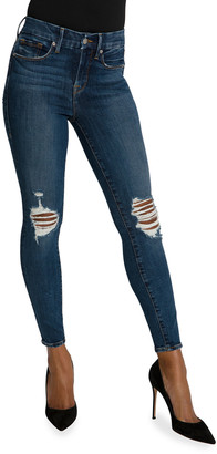 Good American Good Legs Ankle Jeans - Inclusive Sizing