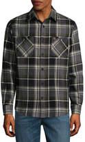 Coleman Long Sleeve Plaid Button-Front Shirt