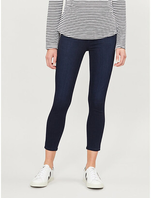 Paige Margot Crop ultra-skinny ultra-high-rise jeans